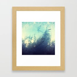 Steamy Window Framed Art Print