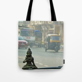 Gods are where you find them Tote Bag