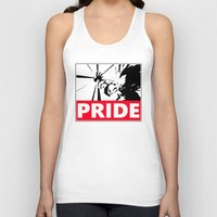 pride Tank Tops featuring Pride by TxzDesign