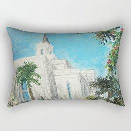 San Salvador El Salvador LDS Temple Rectangular Pillow