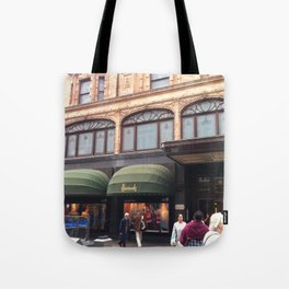 City shopping Tote Bag