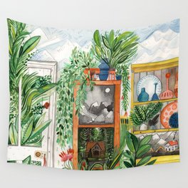 The Jungle Room Wall Tapestry