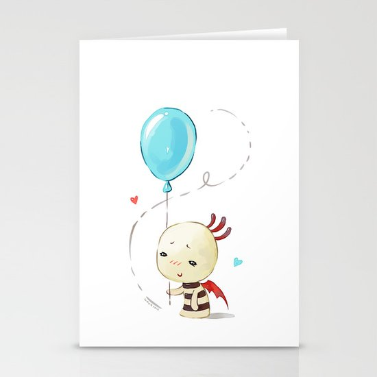 Balloon 2 Stationery Cards