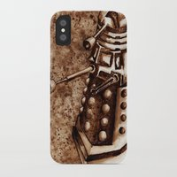 dalek iPhone & iPod Cases featuring Dalek by Redeemed Ink by - Kagan Masters