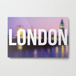 London - Cityscape Metal Print