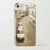 greece iPhone & iPod Cases featuring Delphi, Greece by Alaskan Momma Bear