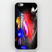 fight iPhone & iPod Skins featuring Fight! by Momo Aiko