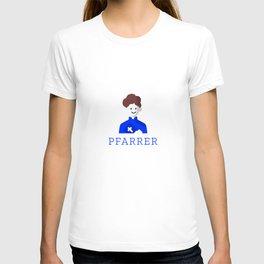 Tolles Original Pfarrer Motiv mit Kreuz - Modernes schönes T-shirt