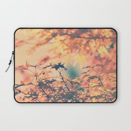 SUBTLE MAPLE - AUTUMN PINK Laptop Sleeve