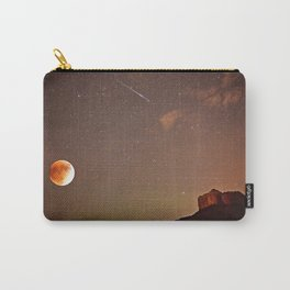 Sedona Blood Moon Eclipse with Shooting Star Carry-All Pouch
