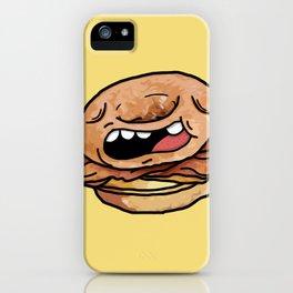 Glazed Donut Breakfast Sandwich iPhone Case