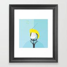 Zissou - The Life Aquatic Framed Art Print