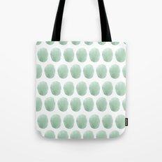 Watercolour polkadot Tote Bag