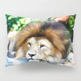 Lion Art One Pillow Sham