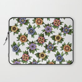 traditional flowers Laptop Sleeve