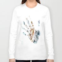 fringe Long Sleeve T-shirts featuring Fringe by D77 The DigArtisT