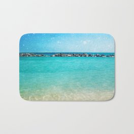 Blue Curacao Bath Mat