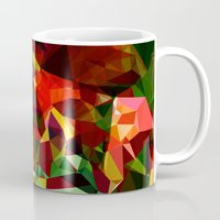 polygon Mugs featuring polygon chaos by Matthias Hennig
