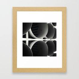 O+O Framed Art Print