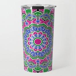 Indian folk art design Travel Mug