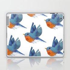 Eastern Bluebird Laptop & iPad Skin