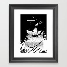 Unnecessary Trouble Framed Art Print