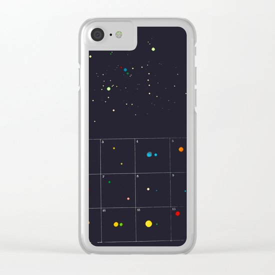 Seeking a new fiction Clear iPhone Case