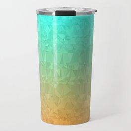 Blue and Orange Ombre Travel Mug