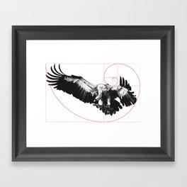 Sacred Vulture classic Framed Art Print