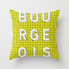 Bourgeois Throw Pillow