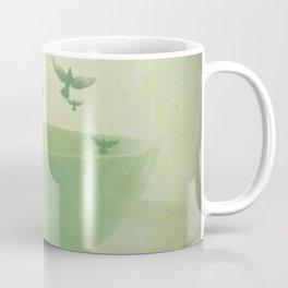 Morning Flight Coffee Tea Bird Flying Dream Surreal Home Kitchen Art Coffee Mug