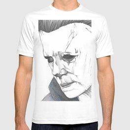 Happy Halloween, Michael Myers Portrait T-shirt