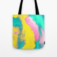florida Tote Bags featuring Florida by elena + stephann