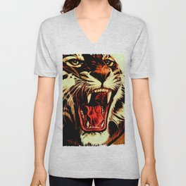 King Of Bengal Unisex V-Neck