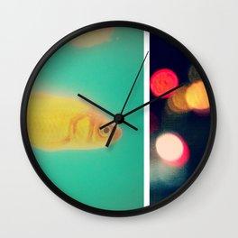 the fish bowl diaries Wall Clock