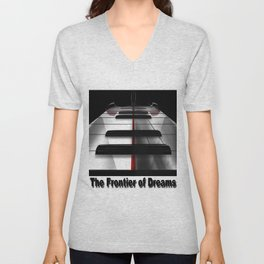 Piano - by HS Design Unisex V-Neck