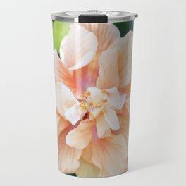 Jane Cowl Tropical Hibiscus Travel Mug