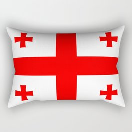 Georgia Flag Rectangular Pillow