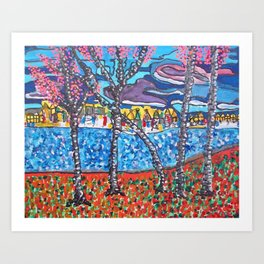 View From Olga's Playhouse Art Print