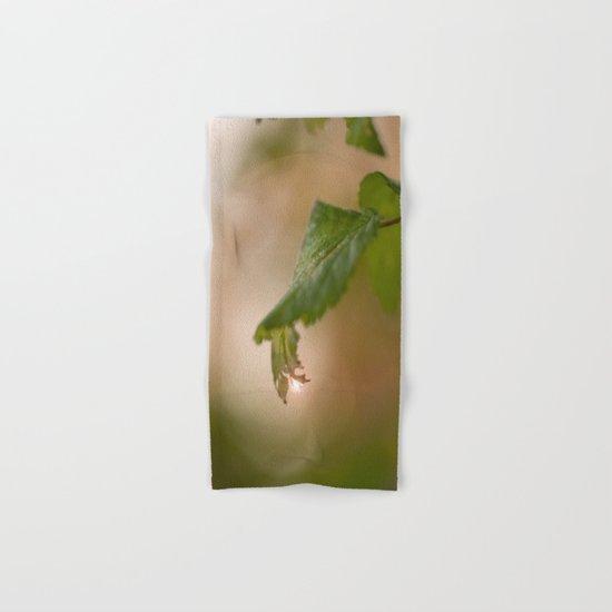Shiny Drop n Forest Hand & Bath Towel
