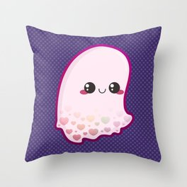 Love Ghost Throw Pillow