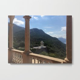 Off the Balcony Metal Print