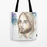 jared leto Tote Bags featuring Leto by SirScm