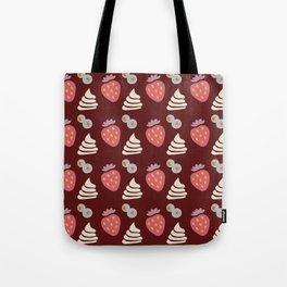 Berries and Cream (dark) Tote Bag