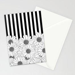 Daisy Stripe Stationery Cards