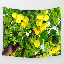 when life gives you lemons... Wall Tapestry