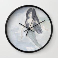 Mermaid Sister Wall Clock