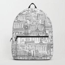 EUROPE LANDMARK PATTERN Backpack