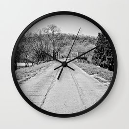 Long Road To Ruin Wall Clock