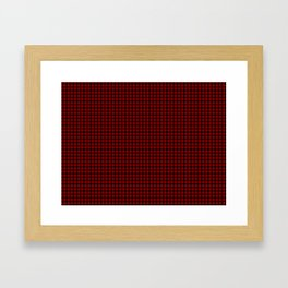 MacQueen Tartan Framed Art Print